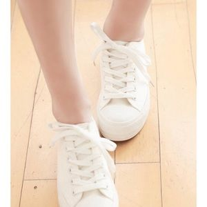 Sth Sweet Fiona Meet Your Soulmate White Sneakers